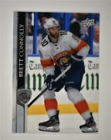 2020-21 UD Series 2 Base Clear Cut #329 Brett Connolly - Florida Panthers