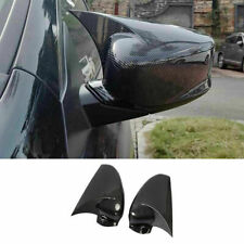 For Honda Accord 2014 2017 Carbon Fiber Ox Horn Rear View Side Mirror Cover Trim Fits Honda