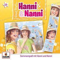 HANNI UND NANNI - 058/SOMMERSPAß MIT HANNI UND NANNI   CD NEW