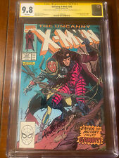 UNCANNY X-MEN #266 8/90 CGC 9.8 WHITE SS STAN LEE + 2 MORE! FIRST GAMBIT! WOW