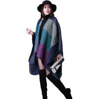 Women Winter Scarf Shawl Wrap Oversized Blanket Knitted Coat Best Christmas Gift