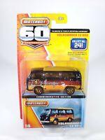 Matchbox 2012 60th ANNIVERSARY 1962 Volkswagen T2 Bus NEW NOC 1/64 Diecast