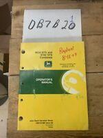 John Deere 9650 STS & 9750 STS Combine Operators Owner Manual OMH161686 OEM