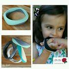 Silicone Teething Bangle Match Necklace Bracelet Teether Baby Chew Mum Sensory