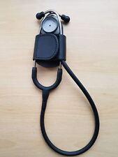 Leather Batclip Stethoscope Holder Belt Pouch Ambulance Paramedic Doctor Nurse