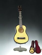 "5.5"" Miniature Classical Guitar with Case & Stand GREAT GIFT"