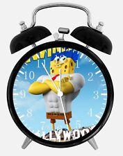 """SpongeBob SquarePants Alarm Desk Clock 3.75"""" Home or Office Decor Z202"""