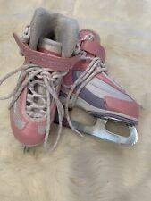 New listing jackson softec ice skates Youth Size 8 Pink