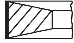 1 Jeu de segments de pistons MAHLE 039 RS 00115 0N0 convient à FIAT PEUGEOT