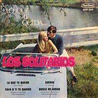 """Hear Los Solitarios Midnight Confessions Latin Nuggetz Garage Rock 7"""" Ep 45rpm"""