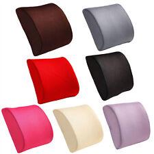 Memory Foam Car Seat Chair Lumbar Back Support Waist Cushion Neck Rest Pillow