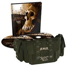 Rage Seasons Of The Black Limited Edition AUTOGRAPHED POSTER  2CD Digi Belt Bag