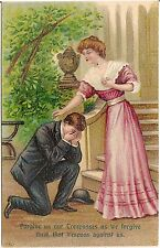 """""""Forgive Us Our Trespasses..."""" Lord's Prayer Religious Postcard"""