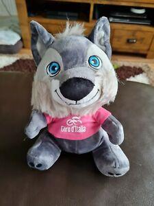 2021 Giro D'Italia Official Podium Wolf Lupo Wolfie Mascot......New & Sealed