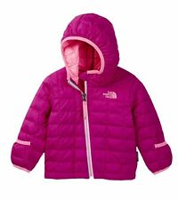 NWT The North Face Infant Girls Thermoball Hooded coat jacket Pink 12 Months $90