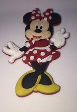 """Disney Parks Minnie Mouse Magnet PVC 3""""     NEW"""