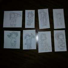 1.VOYAGE*JOURNEY** 8 Different Black Cards*Birthday*Christmas*TOPPERS