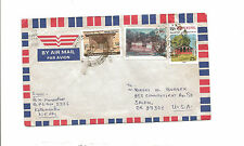 1997 Nepal airmail cover to Salem OR