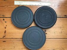 Three vintage EASTMAN KODAK arrow WD AKS films in metal cans
