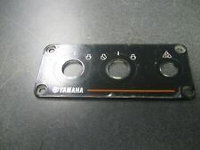 YAMAHA OUTBOARD TWIN SWITCH PANEL PLATE 6Y8-82571-01-00