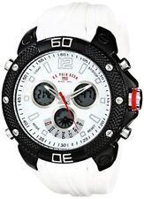 U.S. Polo Assn. Sport Mens Analog-Digital Display Analog Quartz White Watch