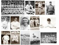 14 Photos,1919 Chicago Black-White Sox Baseball Team Photo,Shoeless Joe Jackson