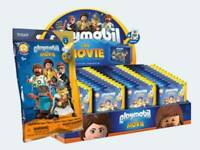 PLAYMOBIL COMPLETE DISPLAY BOX 1x 70069 THE MOVIE SERIE FIGURES 1 - RARE !!!