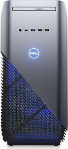 Dell Inspiron 5000 Gaming Desktop - (Recon Blue) Intel Core i7-8700, 8 GB RAM