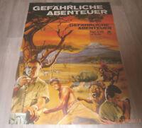 A1-Filmplakat   GEFÄHRLICHE ABENTEUER .HUGH O`BRIAN; JOHN MILLS, NIGEL GREEN