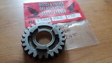 NOS HONDA CR 450 480 rb rc 1981-82 4th GEAR  MAIN SHAFT 24T EVO 23460-KA5-770
