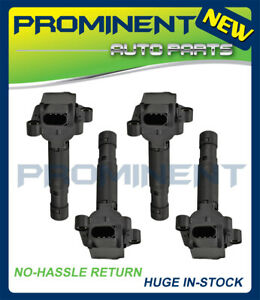 4 Ignition Coils Replacement for 2003 2004 2005 Mercedes-Benz C230 1.8L L4 UF555