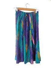Designer LA VTG Maren Petite Label Small Rainbow Colour Womens Skirt