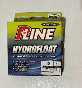 "P-Line Hydrofloat Thermal Fused Spectra Line .008"" 6# 150yd Hi-Vis Yellow NIP"
