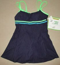 aed7e5aef41c4 Suit Yourself Slender Thighs One Piece Swimwear Swim Dress SwimSuit Size 14