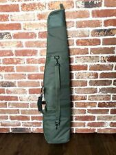 Padded Olive Green Zip Up Air Rifle Gun Carry Case Bag Slip