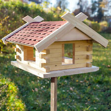 Vogelhaus (Groß), Biberschwanz, Zum selber streichen, Landhaus