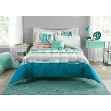 Mainstays Multi Geo Bed in a Bag Coordinating Bedding Set, King - BRAND NEW