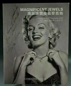 CHRISTIE'S CATALOG MAGNIFICENT JEWELS HONG KONG 11/27/2018 MARILYN MONROE