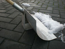 NEW METAL BLADED SNOW SHOVEL,  SUPER STRONG HAND MADE IN THE BLACK COUNTRY