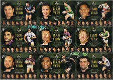 2009 SELECT NRL CLASSIC TEAM OF THE YEAR 9 CARD COMPLETE SET-SLATER/INGLIS/SMITH