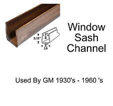 Universal Window Sash Channel