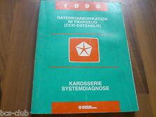 #J094 CHRYSLER JEEP ALLE 1995 CCD-DATENBUS System Diagnose WERKSTATT HANDBUCH
