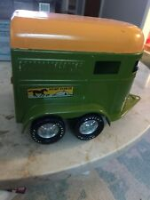 Vintage Nylint Stables Truck Trailer Green Toy 1970s Gently Used
