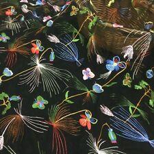 Blumen Bestickt Schmetterling Voile Tüll Netz Stoff Schneiderei Materialien