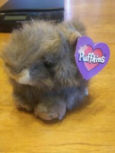 Puffkins Plush Nutty Squirrel Birthdate May 22 Vintage 1997 BNWT