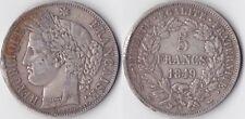 FRANCIA FRANCE 5 FRANCS CERES 1849A