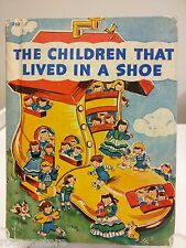 The Children That Lived In A Shoe by Josephine van Dolzen Pease 1942