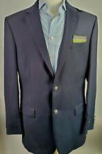 NWT Jos A Bank Men 42XL Navy Wool Traveler Stretch Sportcoat Blazer Jacket $638