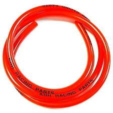 """FUEL GAS LINE HOSE TUBE FOR MOTORCYCLE DIRT PIT BIKE HONDA SNOWMOBILE RED 40"""" 3'"""