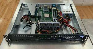 Asrock Ryzen 1U2LW-X470 1U AMD 3800x Server/32GB/1TB nvme / rails /heatsink